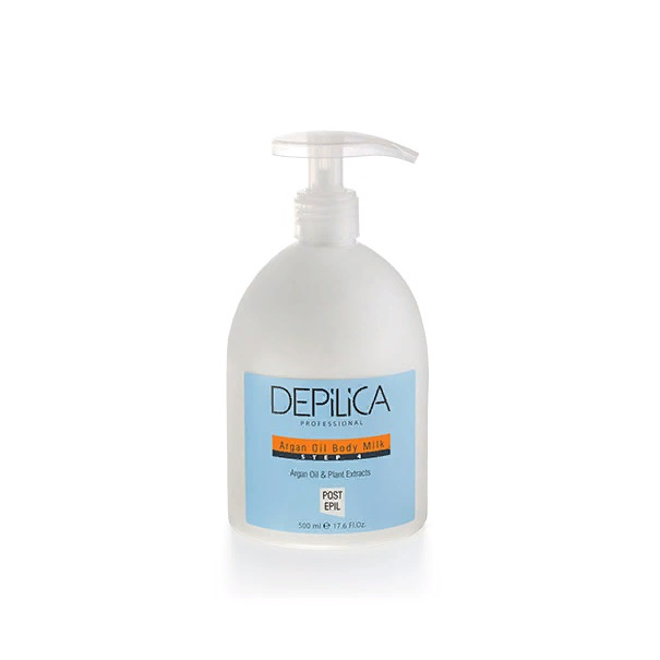 Depilica professional молочко для тела с маслом арганы / argan oil body milk 500 мл
