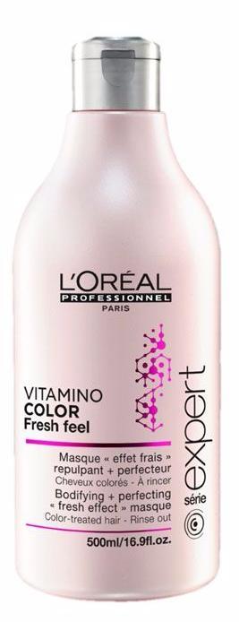 LOREAL PROFESSIONNEL Маска для окрашенных волос без сульфатов / Vitamino Color AOX 500млМаски<br>Идеально подходит для волос, окрашенных INOA. В сочетании с мягким шампунем без сульфатов Vitamino Color AOX Soft Cleanser освежающая маска защищает материю окрашенных волос. Профессиональные стилисты знают, что женщины мечтают о сохранении текстуры и блеска только что окрашенных волос как можно дольше. Нежная тающая текстура с освежающим эффектом разглаживает чешуйки волоса и мягко освежает кожу головы. Окрашенные волосы выглядят вновь как в первый день после окрашивания, становятся гладкими, послушными и сияющими. сохраняя насыщенность оттенка. Не содержит поверхностно активных сульфатов. Способ применения: мягкими массажными движениями нанести маску на кожу головы и распределить по вымытым и подсушенным полотенцем волосам. Оставит на 1-2 минуты. Тщательно смыть.&amp;nbsp;В случае попадания в глаза немедленно промыть водой.<br><br>Объем: 500 мл<br>Пол: Женский<br>Типы волос: Окрашенные