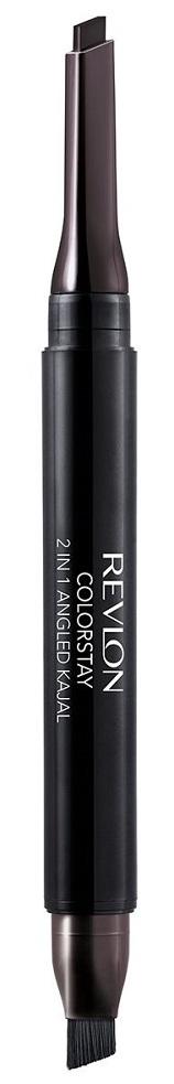 REVLON Карандаш 2 в 1 для глаз, с щеточкой 102 / colorstay angled kajal