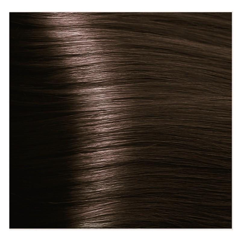 KAPOUS 4.3 крем-краска для волос / Hyaluronic acid 100млКраски<br>Коричневый золотистый Новая революционная формула красителя включает в состав низкомолекулярную гиалуроновую кислоту и инновационный ухаживающий комплекс, которые обеспечивают максимальное увлажнение, сохранение и восстановление структуры волос при окрашивании. Гиалуроновая кислота выполняет функцию межклеточного «цемента» заполняя клеточный матрикс волос. Обладает способностью притягивать огромное количество молекул воды, тем самым максимально увлажняя волосы в процессе окрашивания, так же она является отличным проводником для микропигментов красителя. Креатин – это аминокислота, которая является строительным материалам для поврежденных участков кортекса и кутикулы волос. Укрепляет, восстанавливает и защищает волосы в процессе окрашивания. Пантенол – провитамин В5, помогает восстановить поврежденные участки волосы после окрашивания заполняя все участки, делая его гладким. Обволакивает каждый волос пленкой, которая добавляет до 10%-20% объема (диаметра волос). После многочисленных исследований специалистами лаборатории был создан уникальный по своему действию комплекс: HAPS (Hyaluronic Acid Pigments System), который был взят за основу нового красителя. Состав: AQUA (WATER), CETEARYL ALCOHOL, PROPYLENE GLYCOL, OLEYL ALCOHOL, OLEIC ACID, CETEARETH-30, CETEARETH-3, ETHANOLAMINE, SORBITOL, CETEARETH-20, AMMONIA, SODIUM LAURYL SULFATE, GLYCERYL STEARATE, POLYQUATERNIUM-22, BEHENTRIMONIUM CHLORIDE, HYDROXYPROPYL GUAR HYDROXYPROPYLTRIMONIUM CHLORIDE, TETRASODIUM EDTA, ASCORBIC ACID, SODIUM METABISULFITE, CREATINE, PALMITOYL MYRISTYL SERINATE, GLYCERIN, PEG-8/SMDI COPOLYMER, PEG-8, SODIUM POLYACRYLATE, PANTHENOL, LECITHIN, HYDROLYZED SILK, SODIUM HYALURONATE, CYSTINE BIS-PG-PROPYL SILANETRIOL, PARFUM (FRAGRANCE) METHYLCHLOROISOTHIAZOLINONE, METHYLISOTHIAZOLINONE, MAGNESIUM CHLORIDE, MAGNESIUM NITRATE, CITRONELLOL, GERANIOL +/- P-PHENYLENEDIAMINE, 1,5-NAPHTHALENEDIOL, 1-HYDROXYETHYL 4,5-DIAMINO PYRAZOLE SULFAT