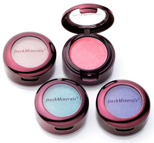 """FRESH MINERALS Тени компактные с минералами для век """"Beige Pink"""" / Mineral Pressed Eyeshadow 1,5гр"""