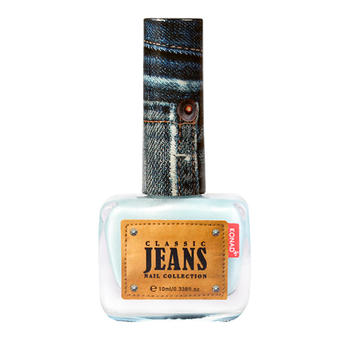 KONAD Лак для ногтей текстурный Nail 06 - Ice Jeans / Classic Jeans 10мл konad лак для ногтей матовый nail 06 peach macaroon soft touch 10мл