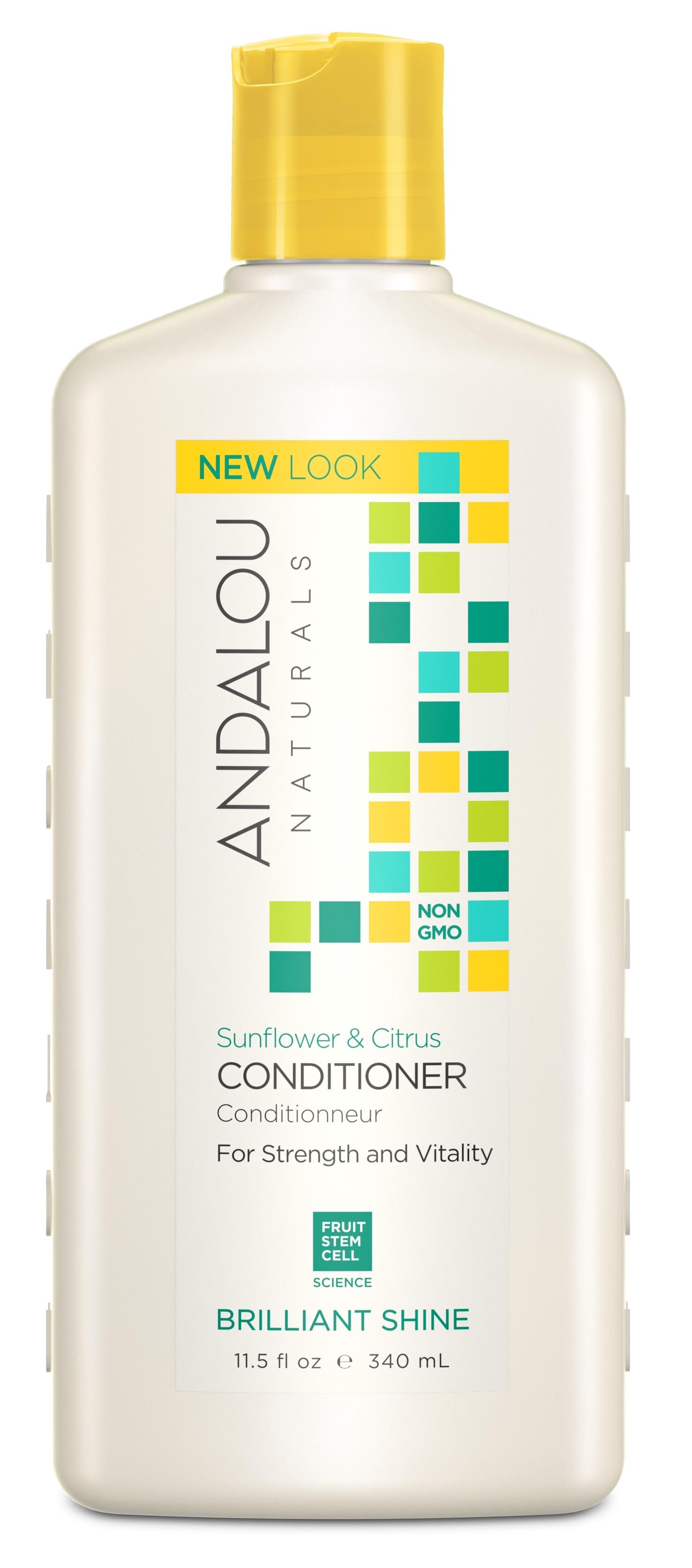 ANDALOU NATURALS Кондиционер для волос Подсолнечник и цитрус 340 мл