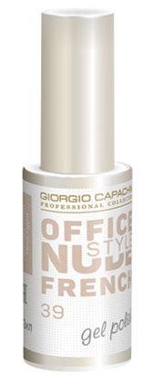 Купить GIORGIO CAPACHINI 39 гель-лак для ногтей / French OFFICE NUDE STYLE 12 мл, Коричневые