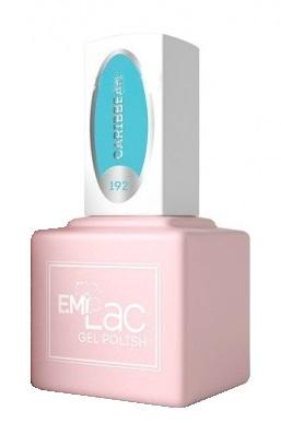 Купить E.MI 192 GR гель-лак для ногтей, Карибы / E.MiLac 6 мл, Синие