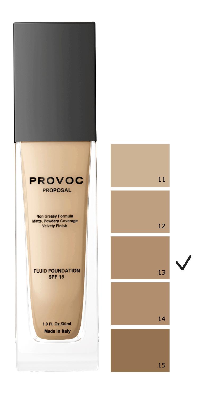 PROVOC Основа тональная для сухой чувствительной кожи 13 / Proposal Foundation 30 мл