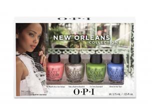 OPI Мини лаки New Orleans Jambala Yettes(NL N57 N59.N60.N62) 4*3,75млЛаки<br>Мини лаки New Orleans Jambala Yettes(NL N57 N59.N60.N62). Коллекция New Orleans представляет 12 новых оттенков лаков и совпадающих с ними по оттенку гелей-лаков GelColor. Почувствуйте, как Ваши пальчики с безупречным маникюром держат те самые квадратные пончики  бенье  из всемирно известного  Кафе-дю-Монд  или поднимают бокал за окончание чудесного дня на Бурбон-стрит. Палитра сладких, пряных, изысканных и выразительных оттенков просто идеальна для городка, где повсюду стихийно возникают уличные праздники, а умение танцевать на улицах заложено в крови. Способ применения: нанесите на ногти 1-2 слоя цветного лака после нанесения базового покрытия. Для придания прочности и создания блеска затем рекомендуется использовать верхнее покрытие.<br>