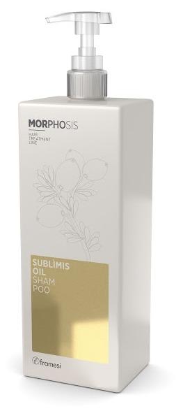 Купить FRAMESI Шампунь на основе арганового масла для волос / MORPHOSIS SUBLIMIS OIL SHAMPOO 1000 мл