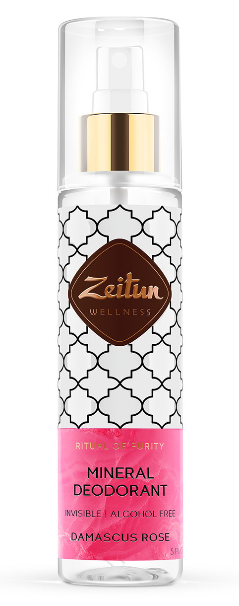 Купить ZEITUN Дезодорант-антиперспирант Дамасская роза 150 мл