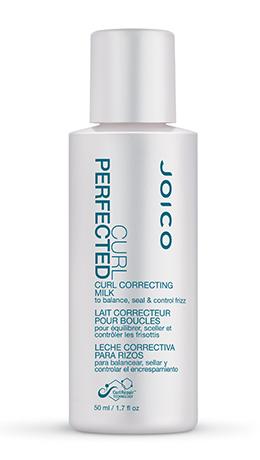 JOICO Молочко несмываемое для расчесывания кудрявых волос / CURL PERFECTED CURL CORRECTING MILK 50млМолочко<br>Выравнивает pH-баланс волос и подготавливает волосы к последующему стайлингу. Делает волосы эластичными, идеально гладкими по всей длине, надежно защищенными от образования пушащихся волос. Придает дополнительный блеск и управляемость. Способ применения: Распылите на подсушенные полотенцем волосы&amp;nbsp; Придайте руками нужную форму, прорабатывая кудри по направлению снизу вверх&amp;nbsp; Укладывайте волосы по желанию<br><br>Объем: 50 мл<br>Вид средства для волос: Несмываемый<br>Типы волос: Кудрявые