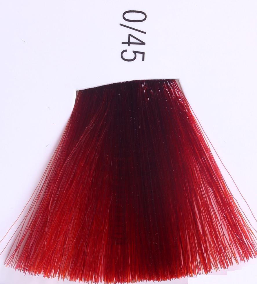 WELLA 0/45 красно-махагоновый краска д/волос / Koleston 60млКраски<br>Крем-краска Красно-махагоновый от Wella разработана лучшими немецкими специалистами для придания вашим волосам глубокого насыщенного цвета и фантастического блеска. Уникальная технология Triluxiv, лежащая в основе крем-краски, дарит вашим волосам насыщенные живые оттенки, способные сохранять свою интенсивность на протяжении длительного времени, и ослепительный блеск, который на 69 процентов больше блеска необработанных волос. Входящие в состав крем-краски Велла липиды, проникая в пористую зону волос, выравнивают их структуру, делая ее более однородной и способствуя тем самым закреплению красящих пигментов. Сочетание инновационных молекул и активатора HDC способствует получению глубокого насыщенного цвета. С крем-краской от Wella вы всегда будете в центре внимания. Насыщенные модные оттенки в сочетании с восхитительным блеском здоровых сильных волос придадут вашему образу неповторимое очарование и яркую индивидуальность. Состав: липиды, молекулы HDC, активатор HDC. Способ применения: нанесите необходимое количество специально приготовленной крем-краски Велла при помощи кисточки или аппликатора на чистые слегка влажные волосы и равномерно распределите по всей длине. Оставьте на 15-20 минут, после чего удалите остатки краски теплой водой и тщательно промойте волосы шампунем для окрашенных волос.<br><br>Объем: 60мл