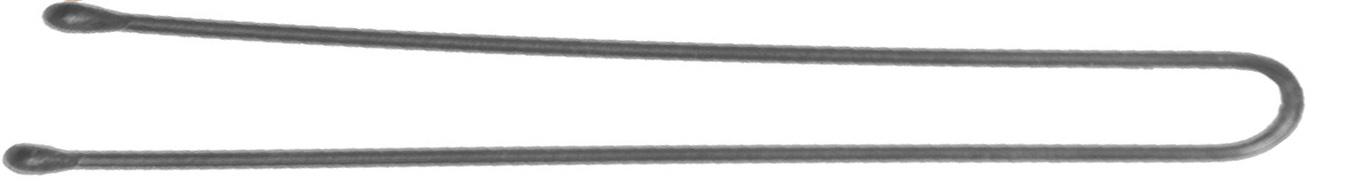 DEWAL PROFESSIONAL Шпильки серебристые, прямые 70 мм, 200 г (в коробке)