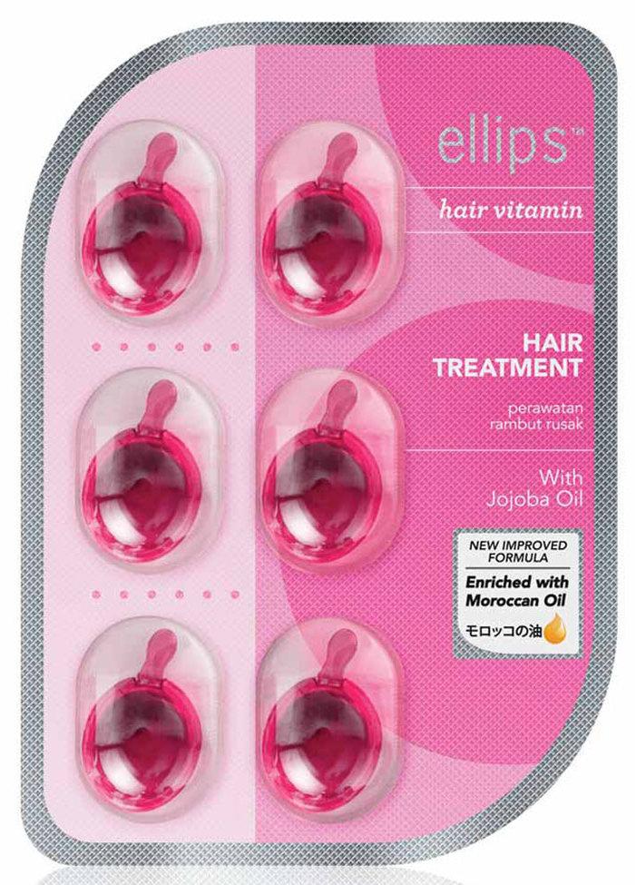 Купить ELLIPS Масло для восстановления волос после химического воздействия, розовые капсулы / Hair Treatment 6 шт (5, 49 г)