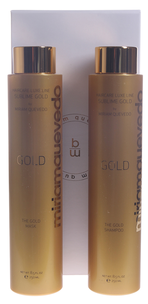 MIRIAM QUEVEDO Набор для интенсивного питания Золотой / The Intense Nourishing Sublime Gold Set 2*250 мл