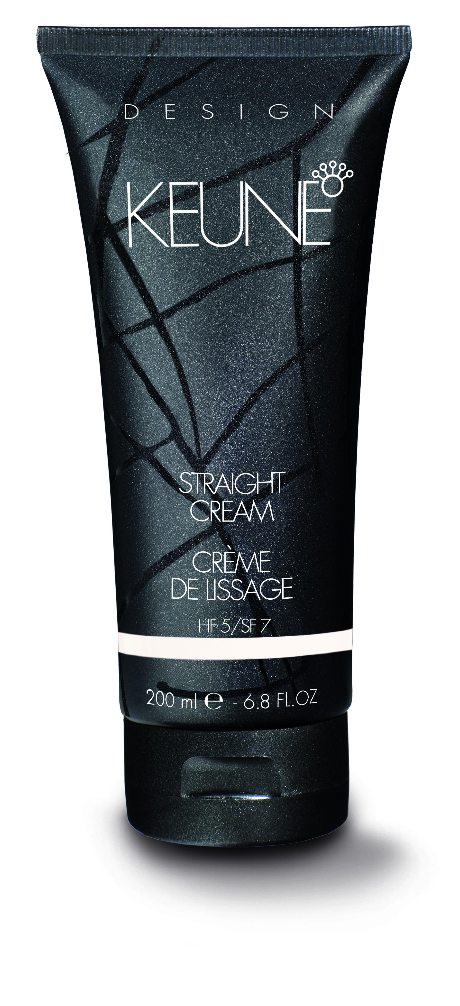 KEUNE Крем выпрямляющий / STRAIGHT CREAM 200млКремы<br>Keune Design Styling Straight Cream &amp;ndash; Выпрямляющий крем   еще одно великолепное достижение ученых и стилистов Нидерландов. Данное средство превосходно разглаживает волосы и эффект сохраняется до очередного случая мытья. Этому крему под силу справиться со вьющимися от природы волосами и даже с кудрями после химической завивки! При этом нет ощущения утяжеления волос. Пряди приобретают невероятный блеск. Они гладкие и послушные. Для усиления действия Выпрямляющего крема от Keune воспользуйтесь феном.  Применение: Высушите волосы полотенцем, а затем нанесите крем. Распределите его с помощью расчески.<br><br>Объем: 200<br>Типы волос: Кудрявые