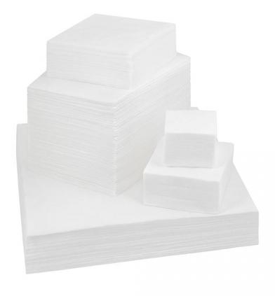Купить IGRObeauty Салфетка 10*10 см 50 г/м2 вафельная, цвет белый 100 шт