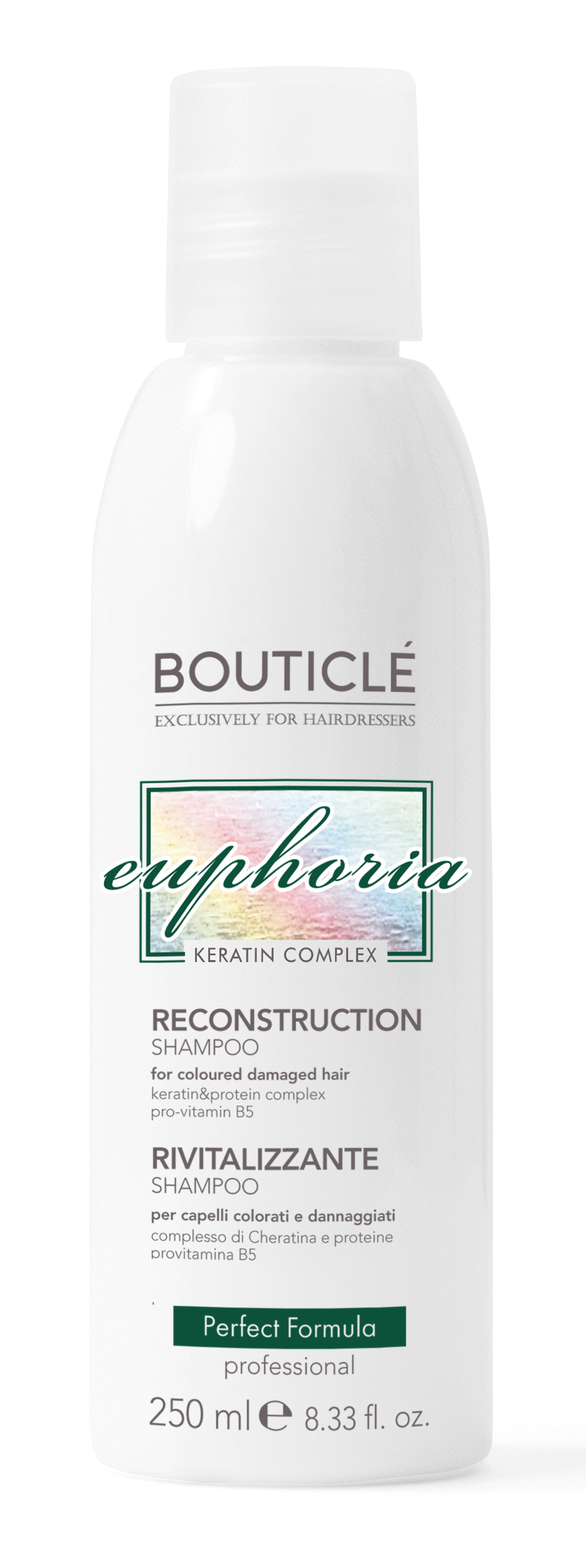 BOUTICLE Шампунь восстанавливающий / Reconstruction Shampoo 250 мл