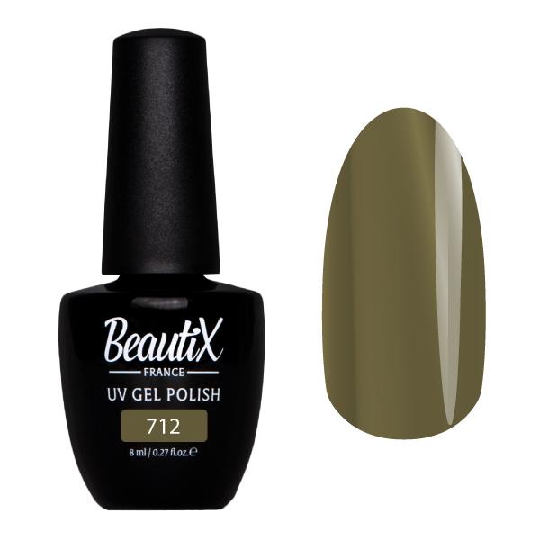 Купить BEAUTIX 712 гель-лак для ногтей 8 мл, Зеленые