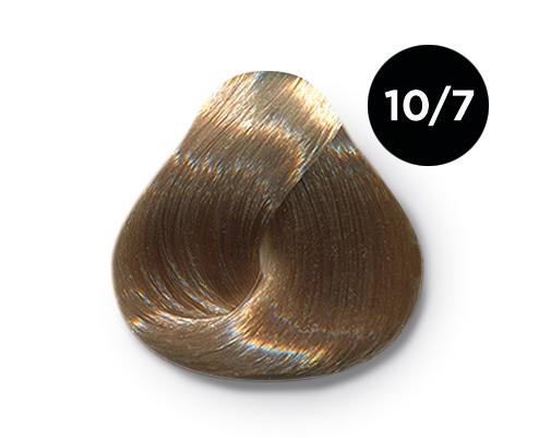 OLLIN PROFESSIONAL 10/7 краска для волос, светлый блондин коричневый / OLLIN COLOR 60 мл