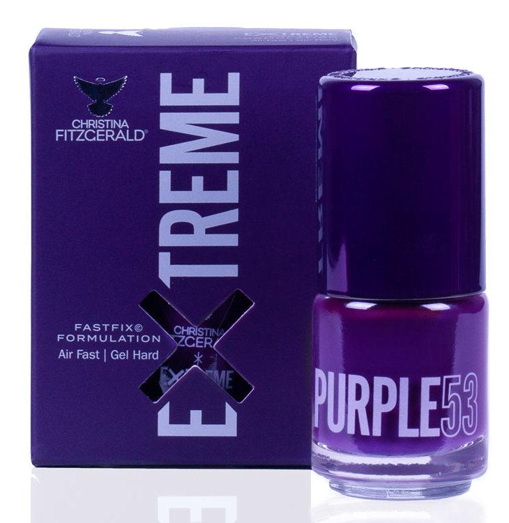 Купить CHRISTINA FITZGERALD Лак для ногтей 53 / PURPLE EXTREME 15 мл, Фиолетовые