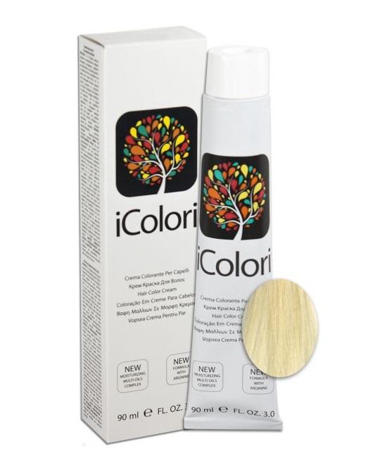 KAYPRO 12.0 краска для волос, экстра супер-платиновый натуральный блондин / ICOLORI 90мл