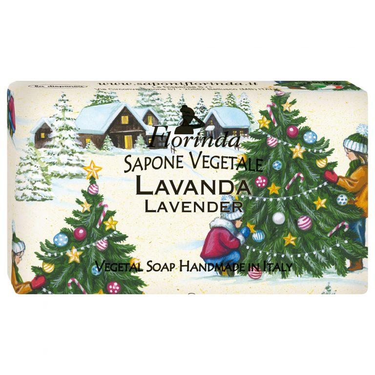 FLORINDA Мыло растительное, лаванда / Lavanda 100 г  - Купить