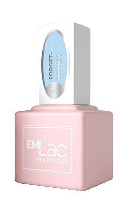 Купить E.MI 197 PR гель-лак для ногтей, Незабудка / E.MiLac 6 мл, Синие