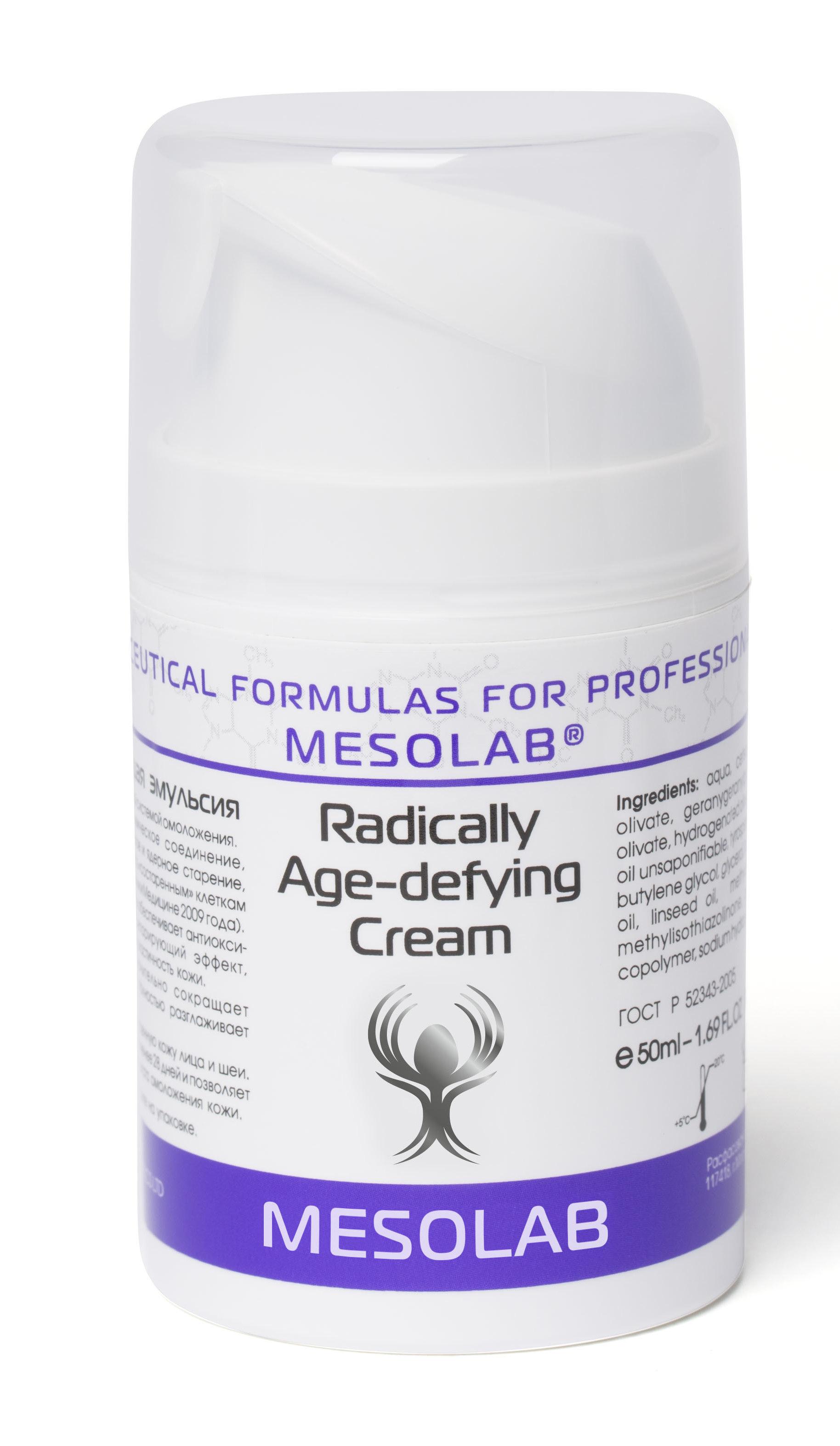 MESOLAB Крем возраждающая эмульсия / RADICALLY AGE-DEFYING CREAM 50 мл -  Кремы