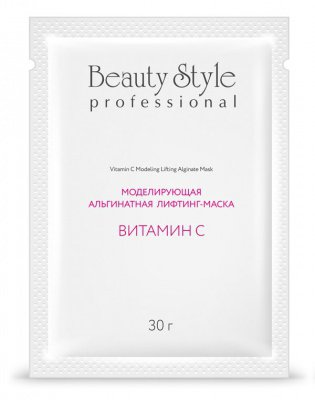 Купить BEAUTY STYLE Маска-лифтинг альгинатная моделирующая Витамин С 30 г