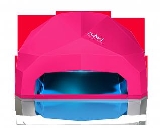 RuNail Прибор LED/UV излучения 24Вт, фуксия
