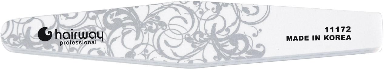 HAIRWAY Пилка д/блеска с орнаментомПилки для ногтей<br>Пилки для ногтей Hairway выполнены из высококачественного износостойкого материала, различной степени жесткости. Позволяют придать форму и блеск натуральным и искусственным ногтям. Пилки удобны в работе, имеют большой срок службы и легко дезинфицируются.<br>
