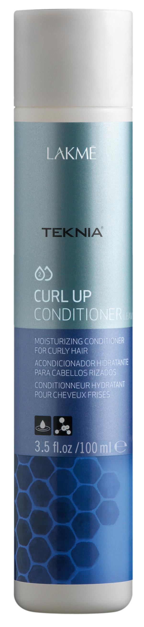 Купить LAKME Кондиционер несмываемый увлажняющий для вьющихся волос и волос после химической завивки / CURL UP CONDITIONER leave-in 100 мл