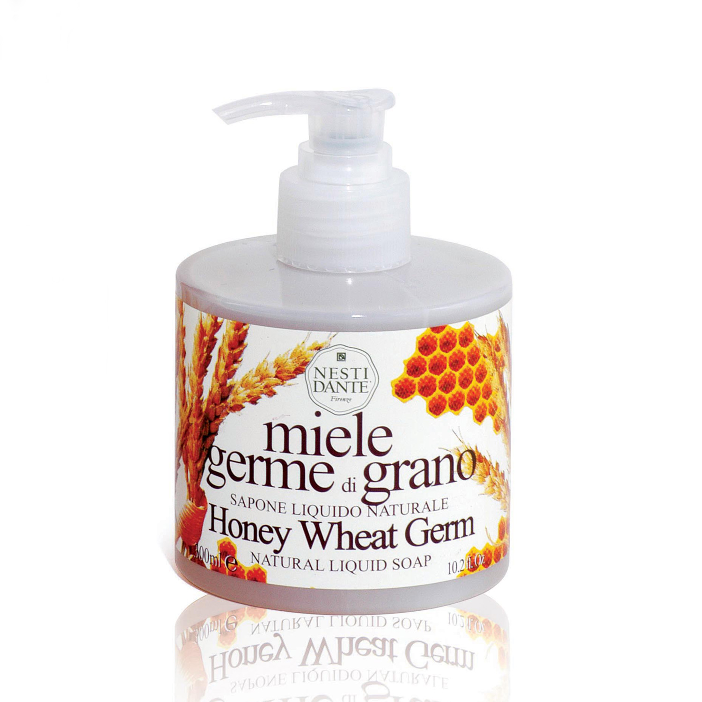 NESTI DANTE Мыло жидкое с медом и зародышами пшеницы 300 мл