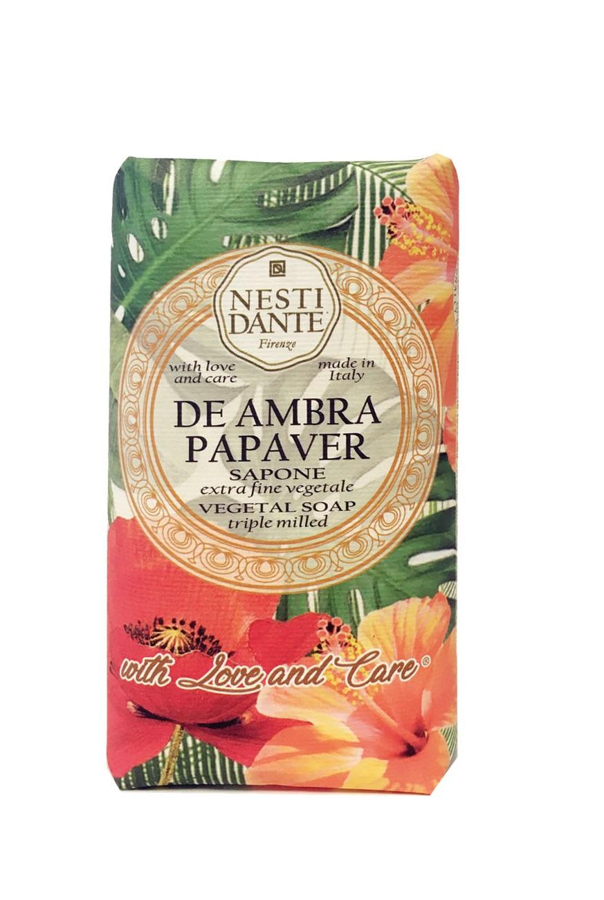 Купить NESTI DANTE Мыло Янтарный мак / De Ambra Papaver 250 г