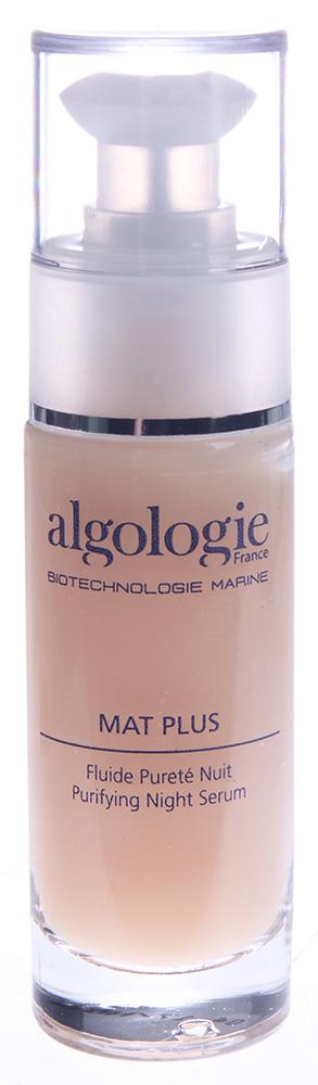 ALGOLOGIE Гель очищающий ночной 30млГели<br>Концентрат для жирной и проблемной кожи с легким цитрусовым запахом. Оказывает антибактериальное действие, нормализует функцию сальных желез, восстанавливает рН, усиливает регенерацию клеток, повышает ранозаживляющую и репаративную активность кожи.   Активные ингредиенты: Максимальная концентрация комплекса Algopure, экстракт центеллы азиатской, триклозан. Способ применения: Нанести на кожу перед сном.<br><br>Вид средства для лица: Очищающий<br>Время применения: Ночной
