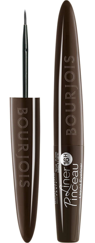BOURJOIS Подводка жидкая для глаз 33 / Liner Pinceau 16h brun impressioniste