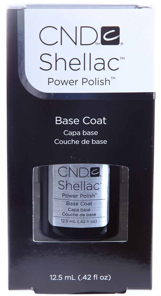 CND Покрытие базовое / UV Base Coat SHELLAC 12,5мл cnd покрытие верхнее cnd shellac duraforce top coat 7 3 мл