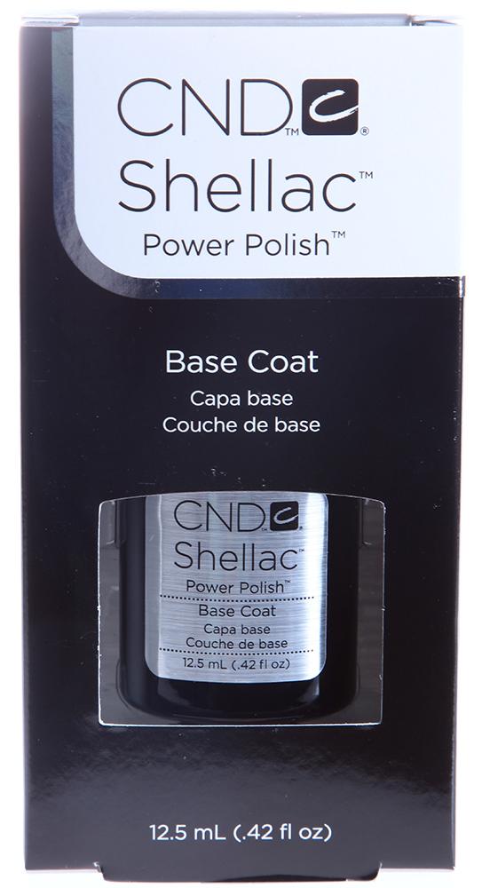 CND Покрытие базовое / UV Base Coat SHELLAC 12,5млБазовые покрытия<br>Перед тем, как наносить цветное покрытие Shellac, ногтевую пластину необходимо подготовить. Во-первых, для того, чтобы обеспечить дополнительную защиту, а во-вторых, чтобы гарантировать максимальную стойкость цвета. Для этого специалисты американской компании CND Shellac создали уникальное базовое покрытие Базовое покрытие UV Base Coat. Оно является фундаментальным средством в Shellac-системе. Базовое покрытие имеет гипоалергенную формулу, поэтому подходит практически всем. Оно легко наносится, делает ногтевую пластину более ровной и наполняет ее питательным веществами. Использование Базового покрытия UV Base Coat Шеллак обеспечит дальнейшее идеальное покрытие ногтя цветным гелем.   Активные ингредиенты: Не содержит толуол, дибутилфталат (DBP), формальдегид и его смолы. Способ применения: На предварительно очищенную ногтевую пластину с помощью кисточки тонким слоем нанесите Базовое покрытие UV Base Coat Shellac. Средство полимеризуется в УФ-лампе в течение 10 секунд.Базовое покрытие, которое является фундаментом в Shellac-системе. Один тонкий слой ультрафиолетового покрытия обеспечивает прочное сцепление средства с ногтевой пластиной.<br><br>Объем: 12,5<br>Типы ногтей: Нормальные