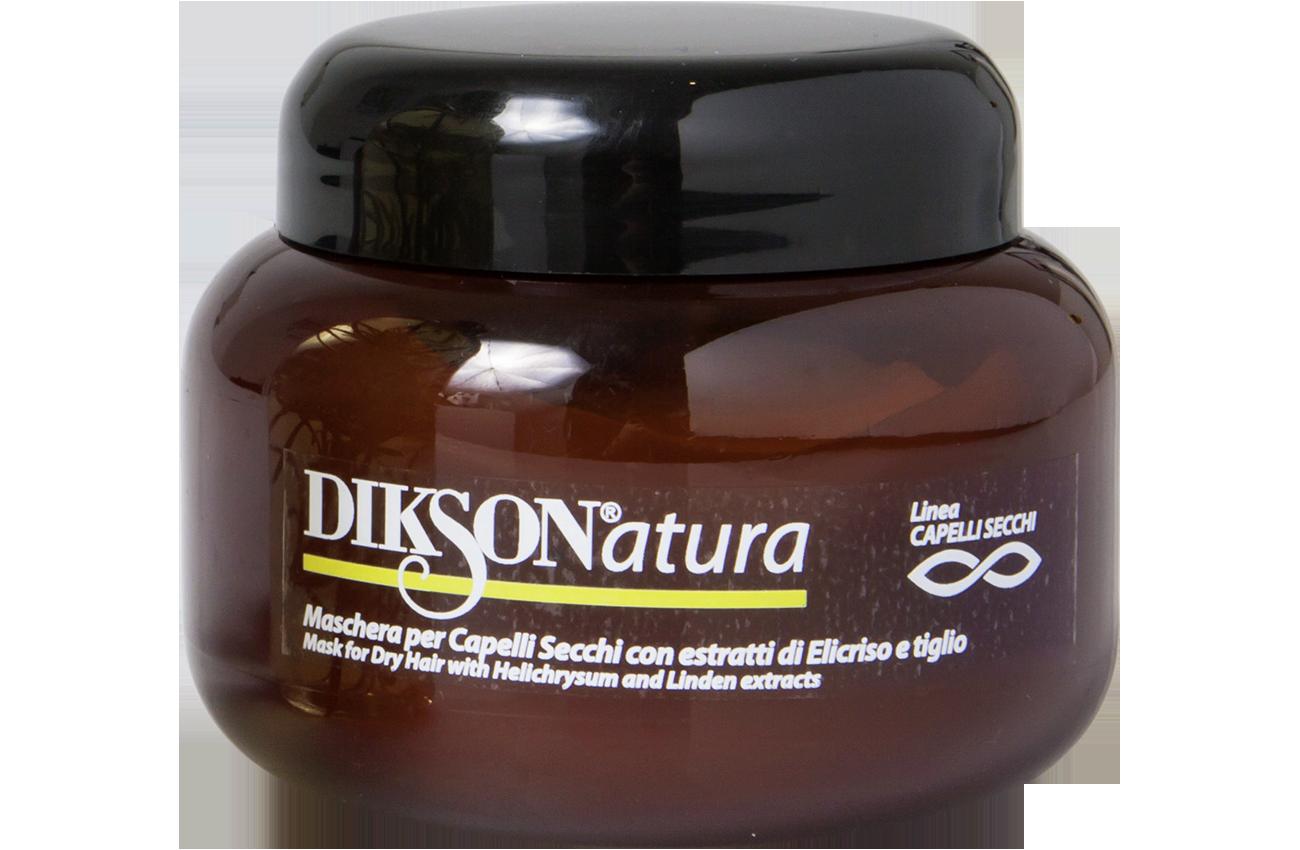 DIKSON Маска с экстрактом бессмертника для сухих волос / MASK WITH HELICHRYSUM 250мл~
