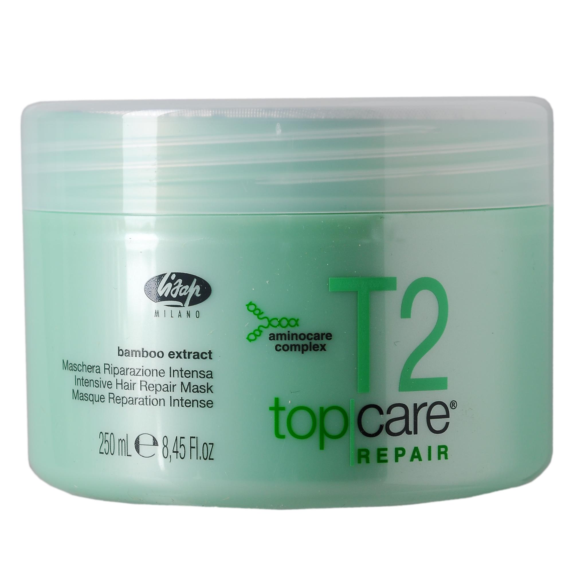 LISAP MILANO Маска восстанавливающая интенсивная для химически обработанных волос / TOP CARE REPAIR 250мл