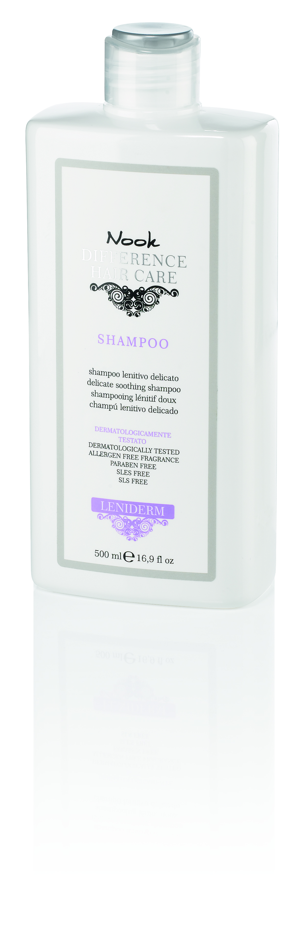 NOOK Шампунь успокаивающий для чувствительной кожи головы Ph 5,5 / DIFFERENCE HAIR CARE 500 мл