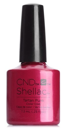 CND 90868 покрытие гелевое / Tartan Punk SHELLAC Contradictions 7,3 мл cnd 058a покрытие гелевое steel gaze shellac 7 3мл