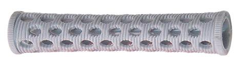 SIBEL Бигуди пластмассовые серые 15 мм 10 шт/уп