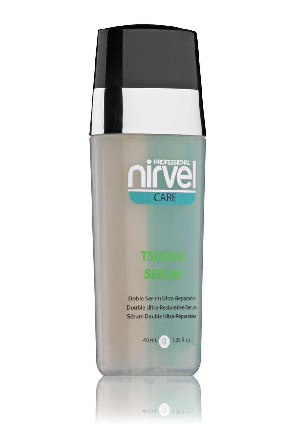 NIRVEL PROFESSIONAL Сыворотка для поврежденных волос, двухкомпонентная / TSUBAKI SERUM 40 мл