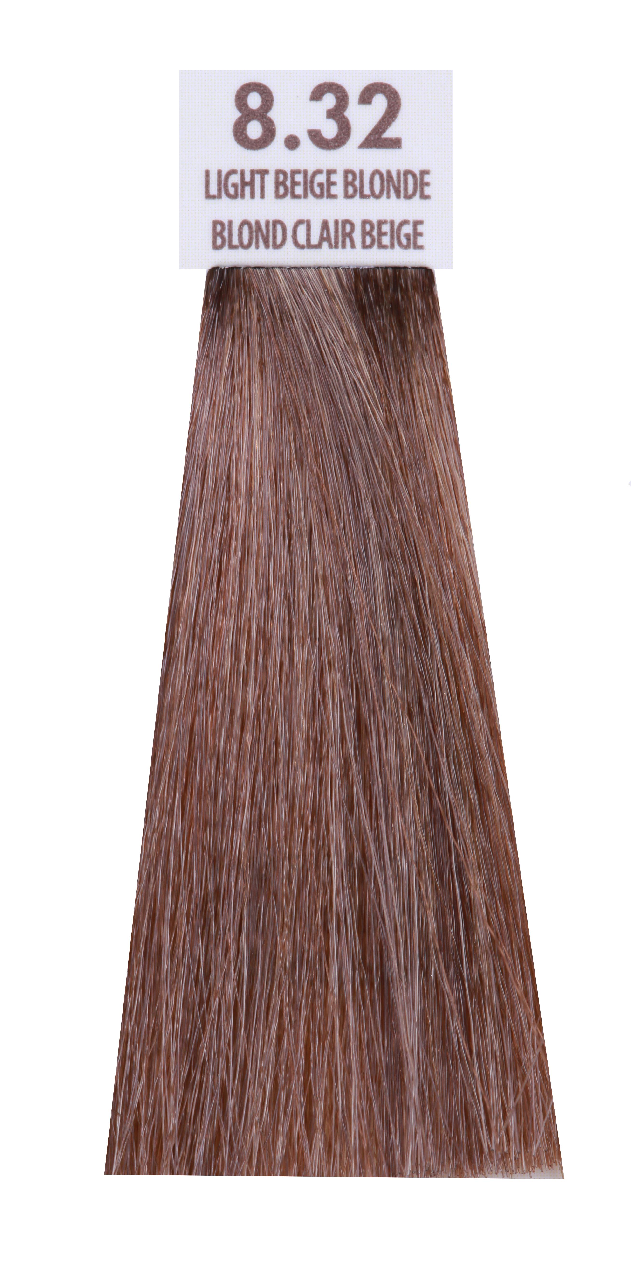 MACADAMIA NATURAL OIL 8.32 краска для волос, светлый бежевый блондин / MACADAMIA COLORS 100 мл фото