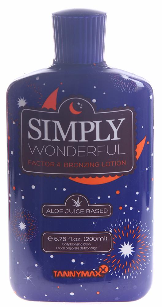 TANNYMAXX �������� � 4-� ������� ����������� ��� ���� / Simply Wonderful Factor 4 Bronzing 6-th SENSE 200��