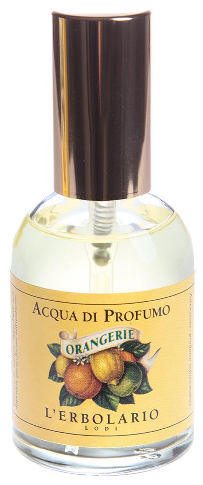 LERBOLARIO Вода парфюмированная Оранжерея 50 млПарфюмерия<br>Свежий и нежный, пьянящий и свободный, этот аромат   просто воплощение бодрости и энергии. Эта парфюмированная вода, сочетающая в себе нотки апельсина, мандарина, лимона, является воплощением всех самых притягательных ароматов цитрусового сада и имеет собственный яркий и запоминающийся характер.<br>