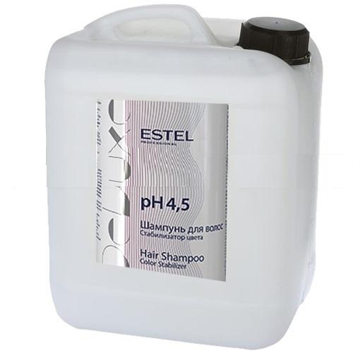ESTEL PROFESSIONAL Шампунь стабилизатор цвета для волос / De Luxe 5000 мл estel шампунь de luxe стабилизатор цвета для волос 1000 мл