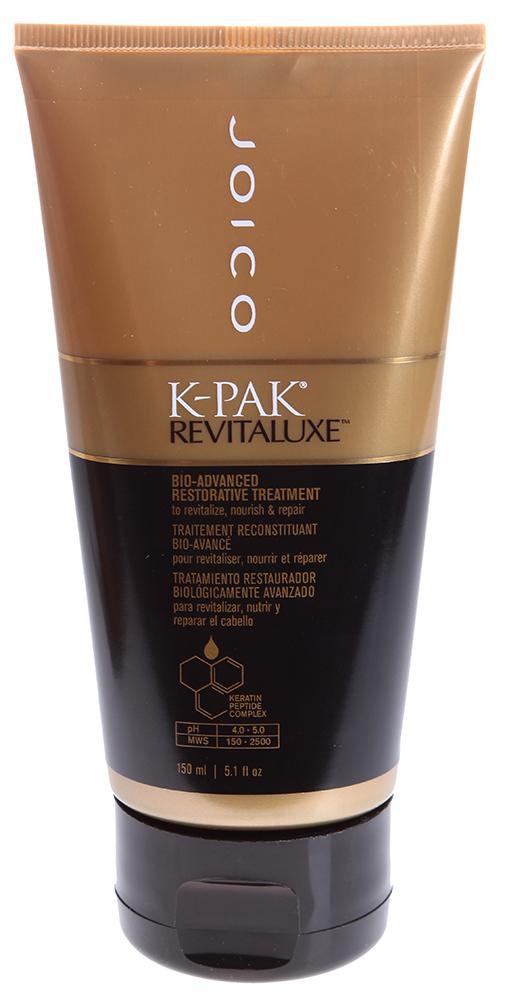 JOICO Био-маска реконструирующая с кератиново-пептидным комплексом / K-PAK 150млМаски<br>Интенсивная оживляющая маска для всех типов волос. Обеспечивает полное восстановление и увлажнение сухих, поврежденных волос. Мгновенно делает волосы максимально увлажненными и более мягкими. рН 4,0-5,0. Содержит уникальную технологию Keratin Peptide Complex. Способ применения: Равномерно распределить по длине вымытых шампунем волос. Оставить на 3-5 минут. Смыть.<br>