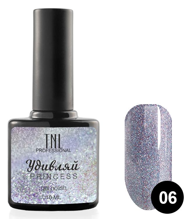 Купить TNL PROFESSIONAL 06 гель-лак для ногтей Удивляй / Princess 10 мл, Фиолетовые